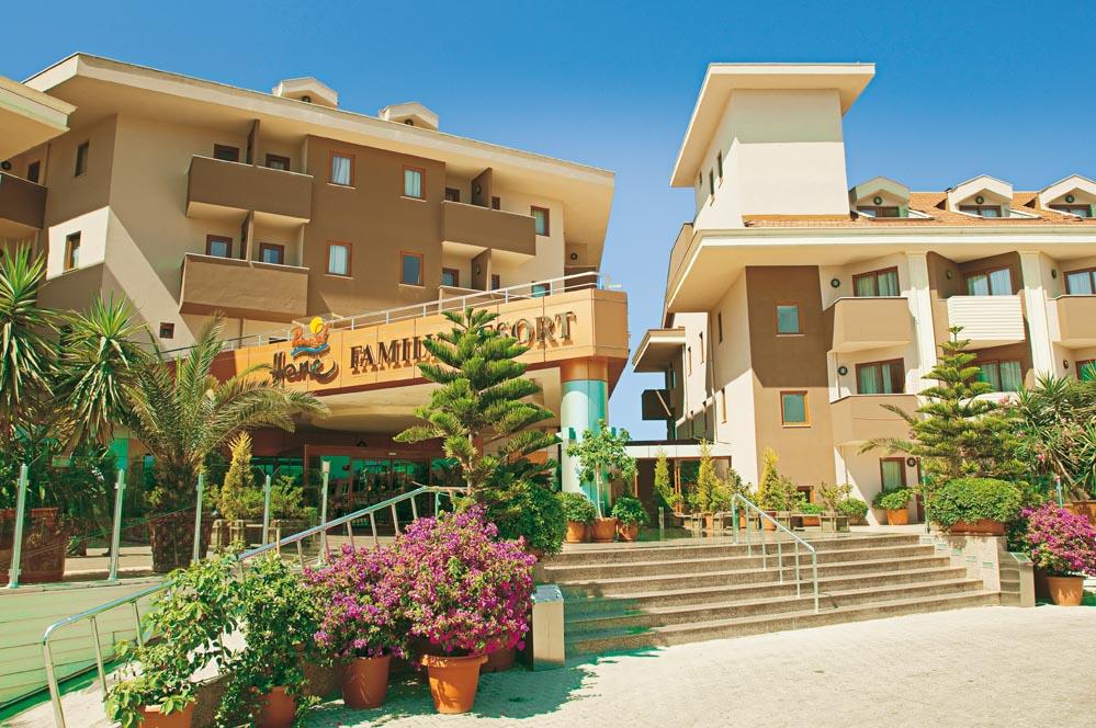 Primasol Hane Family Resort Wasserrutschen In Der T 252 Rkei
